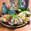 料理メニュー写真シェルまるオススメ 本日の貝と魚の刺身盛り