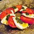料理メニュー写真フルーツトマトとポンティコルボのカプレーゼ