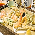 料理メニュー写真串天ぷら24種