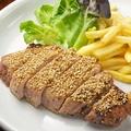 料理メニュー写真ごまやの肉料理NO.1!豚肉セサミ焼き