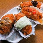 広島県産のカキフライ!大粒のフライにびっくり★こんな美味しい牡蠣フライ食べたことない!!