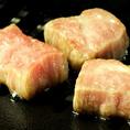 厚切りの和牛焼肉は口の中でとろけます♪