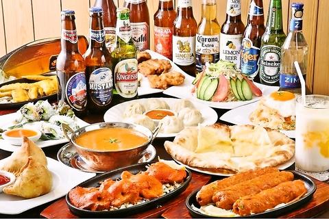 おかげさまで1周年☆谷保駅徒歩1分!本格インド・アジア料理をご提供しております。