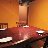 人気のテーブル個室。