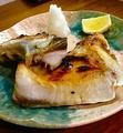 料理メニュー写真●数量限定 ブリカマの塩焼き