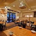カフェのようなぬくもりある酒場☆アットホームな空間は帰ってきたくなる場所です。