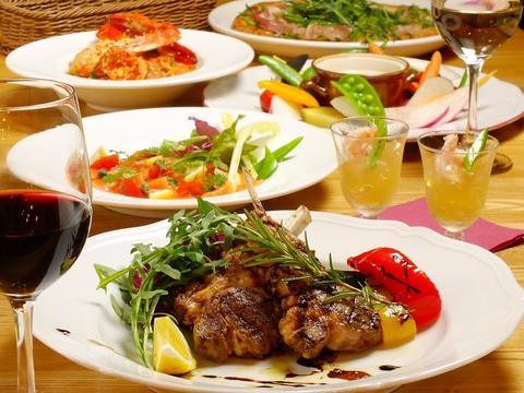 隠れ家の名店!旬の鮮魚・新鮮野菜を活かしたイタリアン料理を存分にお楽しみください