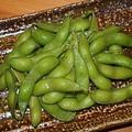 料理メニュー写真塩茹で茶豆