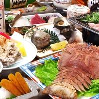 旬の魚介をさまざまな調理法で…