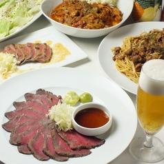 the 肉丼の店 だいにんぐ 高田馬場店のコース写真