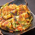 料理メニュー写真オモニ海鮮チヂミ