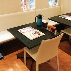 【1名様~2名様】テーブル、ソファー席