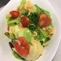 料理メニュー写真キャベツと桜海老の温サラダ
