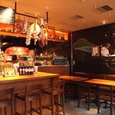 まるでイタリアに来たかのようなお洒落な店内!サルヴァトーレならではの赤い石釜で焼かれるピザをお楽しみください♪
