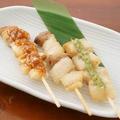 料理メニュー写真イベリコ豚串食べ比べ