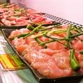 大山鶏の焼き鳥9種新登場!!新鮮なお肉を毎日厳選しているため味にも自信あり◎