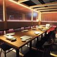 テーブルタイプ完全個室を完備!落ち着いた雰囲気での完全個室となっております♪広々とした和の空間が漂うお席でのお食事、お酒をご堪能下さいませ!他にも個室席は多数完備しております。