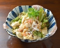 料理メニュー写真ずわい蟹のサラダ