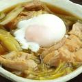 料理メニュー写真鶏とネギの煮込み