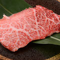 料理メニュー写真神戸牛 (25g) カルビ1枚焼