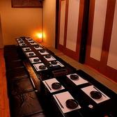 最大25名様の可能な完全個室完備!4名/6名/8名/仕切ってお使いいただけます。[鹿児島/天文館/居酒屋/飲み放題/食べ放題/宴会/2次会/誕生日/女子会/鍋/個室]