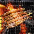 料理メニュー写真赤海老の串焼