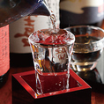 【豊富なラインナップの日本酒・焼酎】大人気の銘柄から知る人ぞ知る隠れた銘柄まで種類豊富にご用意しておりますのでお料理に合わせてお選びください。