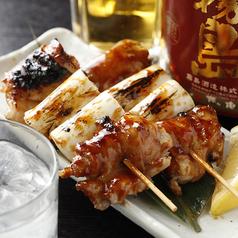 料理メニュー写真● 炭焼 【滋養鶏】~ねぎま~ (たれ・塩) :2本