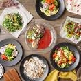 当店では、新鮮な食材を使用し、野菜本来の旨みを引き出した料理をご提供いたします♪「ソフトケールのサラダ」他、華やかな食事を楽しみながら健康を考えられるような、未来の食文化を提案★メニューも多くご用意しておりますので是非お楽しみください♪