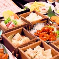 地産地消にこだわった50種類超の豊富な食べ放題メニュー