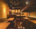 モダンな色合いで統一された店内【完全個室 誕生日 記念日 横浜 和食 居酒屋】