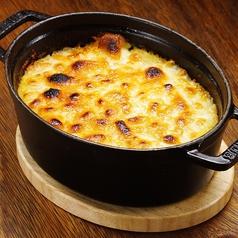 料理メニュー写真挽き肉とマッシュポテトのチーズ焼き