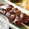 料理メニュー写真● 炭焼 【滋養鶏】~白レバー~ (たれ・塩) :2本