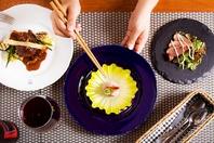 彩り鮮やかな料理の数々