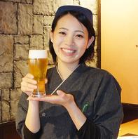 【生ビール450円(税抜)~♪】