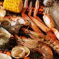料理メニュー写真牡蠣・帆立・ハマグリetc浜焼き&牡蠣料理が食べ放題♪3980円