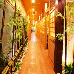 京都は鰻の寝床☆店内は個室感、満載♪