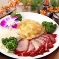 料理メニュー写真三種冷菜の盛り合わせ