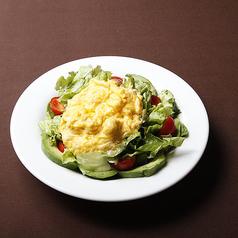 アボカドと半熟卵のサラダ