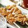 料理メニュー写真● 炭焼 【滋養鶏】~皮~ (たれ・塩) :2本