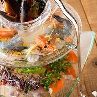 日替わり魚介のカルパッチョ