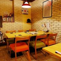 可愛い店内でゆったり美味しいご飯とお酒を愉しめるお店