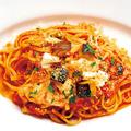 料理メニュー写真茄子たっぷり!モッツァレラパスタ