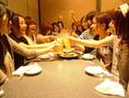 歓送迎会、会社宴会、飲み会、同窓会、様々なシーンで