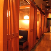 木の温もりあふれる個室空間を御提供!