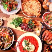こだわりの様々なお料理をご提供