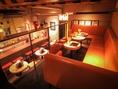 VIP席☆誕生日や記念日、シャンパンやスパークリングがよく似合う贅沢なソファ席となってます!