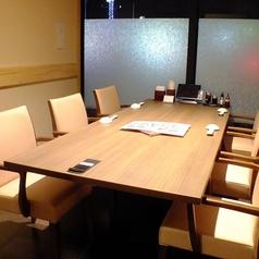 【さくら草】個室テーブル席