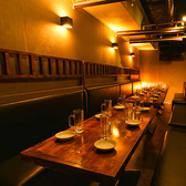 ソファータイプの隠れ席★8名様~20名様席のご案内です!イタリアン制のソファーを使い、しっかりとした座り心地で女子会や会社の飲み会には最適の空間となっております!