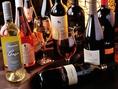 ワインも多数ご用意!プレミアム飲み放題で全12種飲み放題!